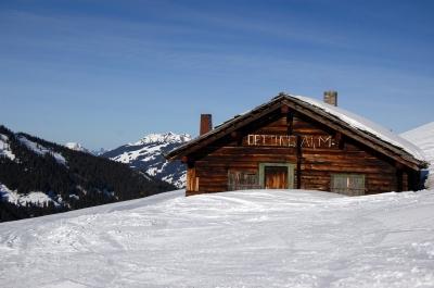 mountain hut Switzerland